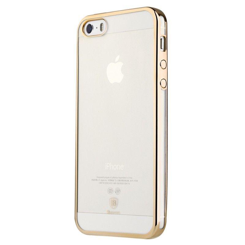 Baseus Shining Case For iphone 5/5S/SE Luxury Gold