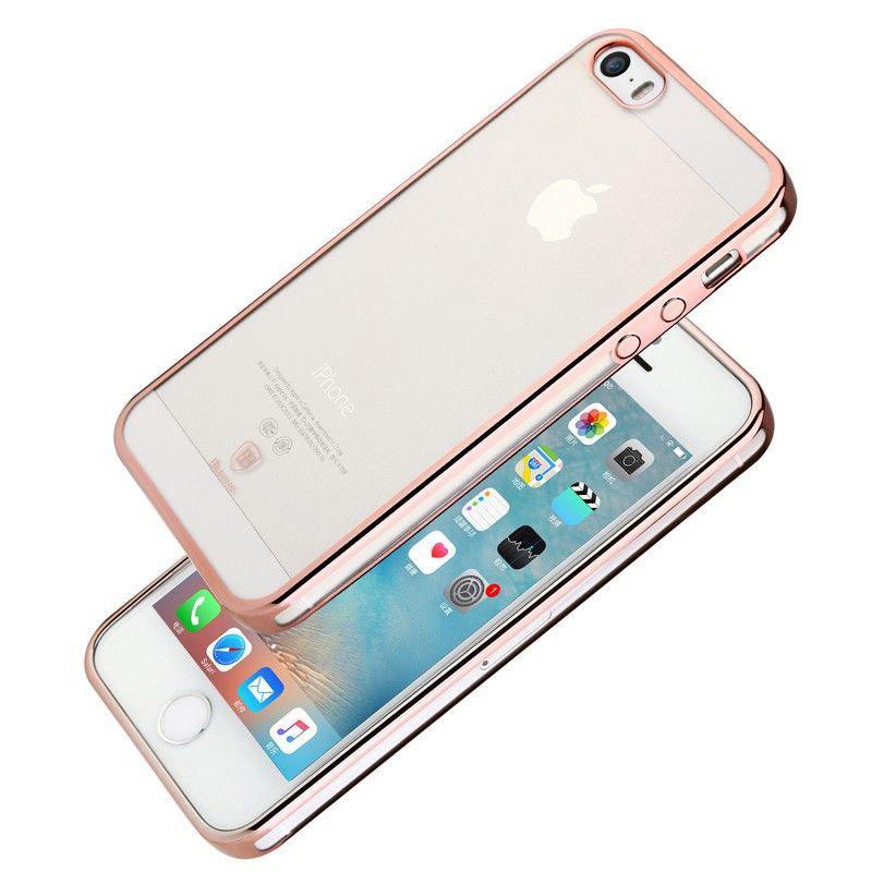 Baseus Shining Case For iphone 5/5S/SE Rose Gold