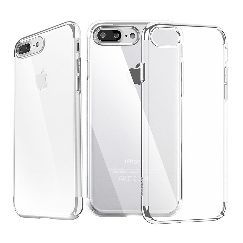 Baseus Shining Case (TPU) For iPhone 7 Plus Silver