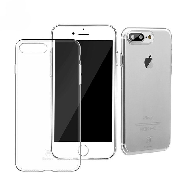 Baseus Simple Series Case (Clear) For iPhone 7 Plus Transparent
