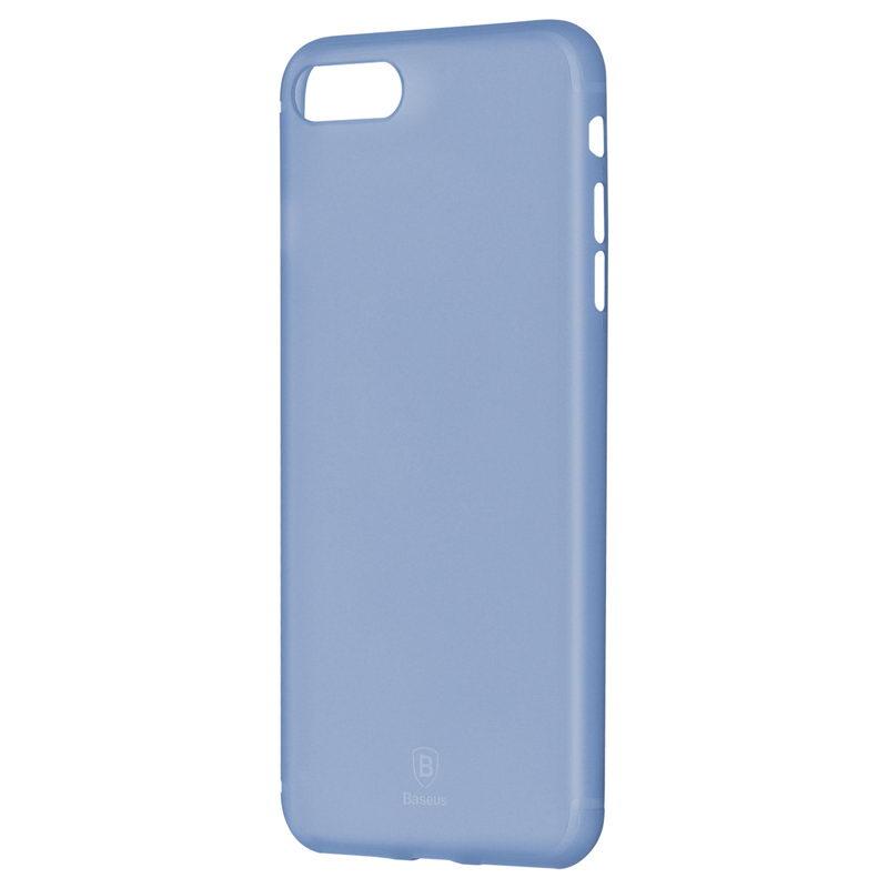 Baseus Slim Case For iphone 7/8/SE 2020 Transparent Blue (WIAPIPH7-CT03)