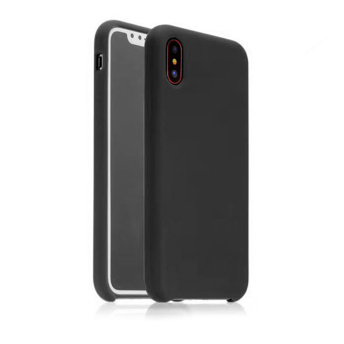 COTEetCI Silicon Case for iPhone X/XS Black (CS8012-BK)