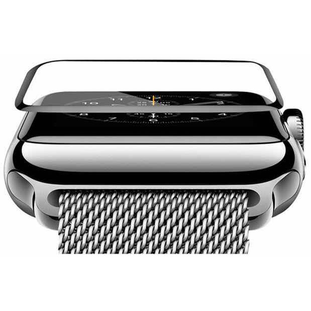COTEetCI 4D Black-Rim Full Viscosity Glass for Apple Watch 3/2/1 42mm (CS2213-42)