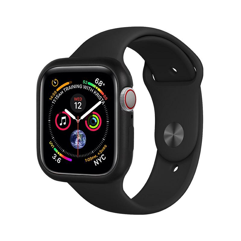 COTEetCI Aluminum Magnet Case Black For Apple Watch 4/5/6/SE 44mm (CS7058-BK)