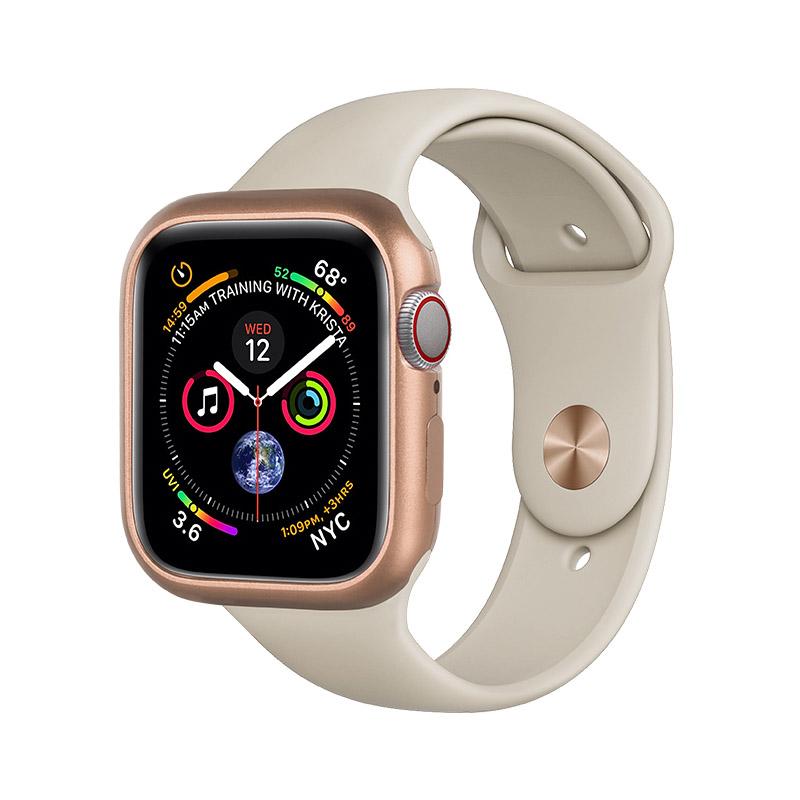 COTEetCI Aluminum Magnet Case Gold For Apple Watch 4/5/6/SE 40mm (CS7057-GD)