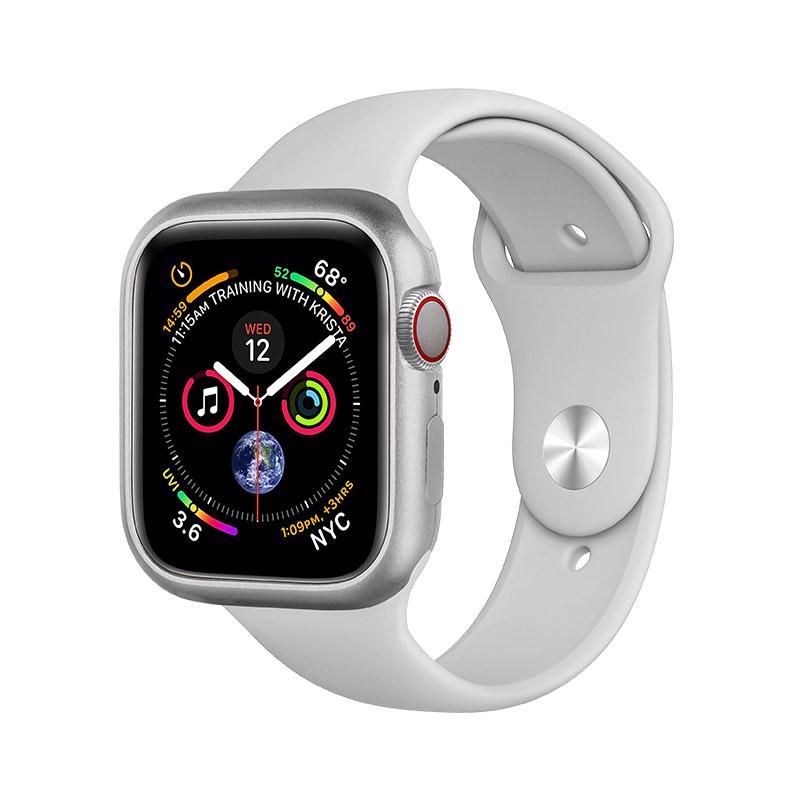 COTEetCI Aluminum Magnet Case Silver For Apple Watch 4 40mm (CS7057-TS)
