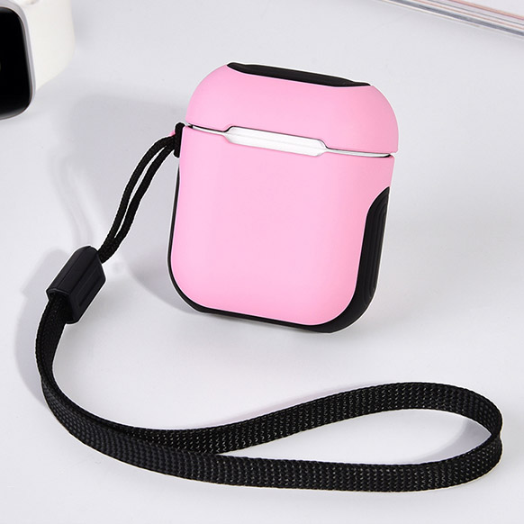 COTEetCI Airpods Armor Case Pink + Black (CS8123-PB)