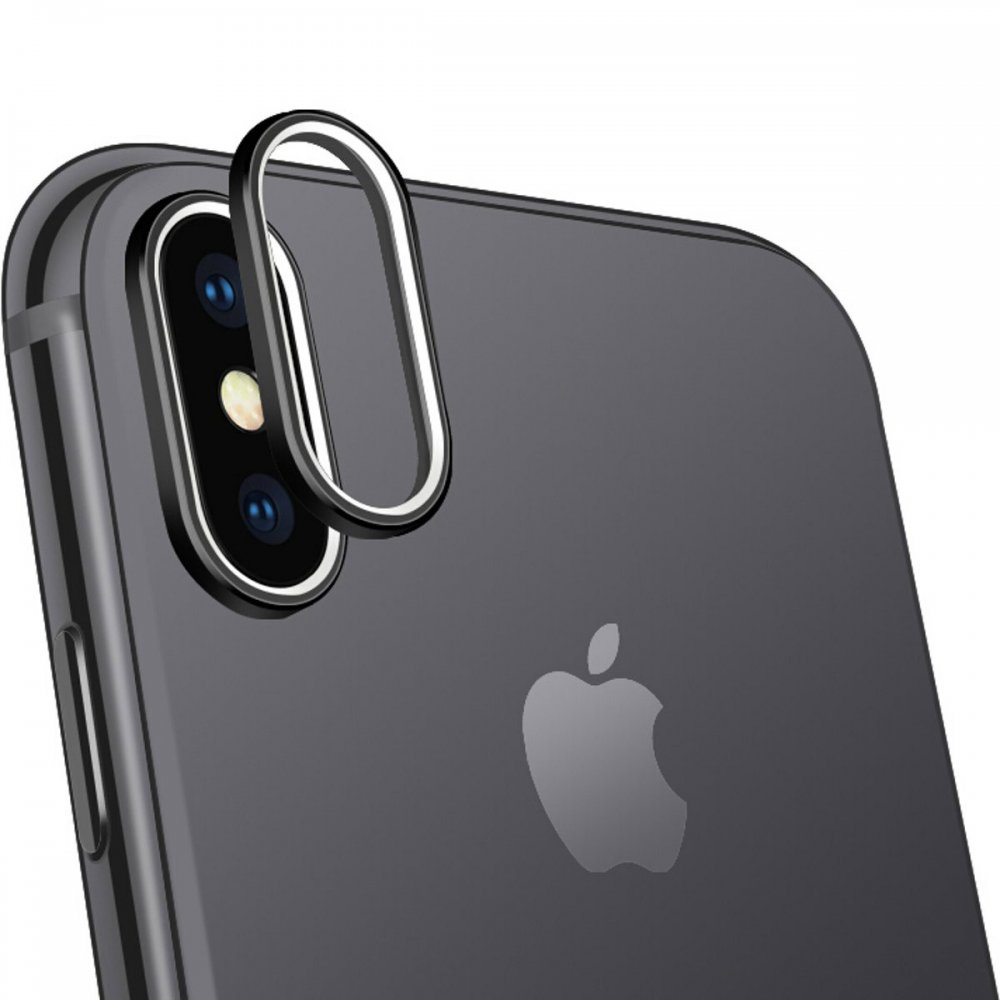 COTEetCI Camera Protector Ring for iPhone X Black (CS8105-BK)