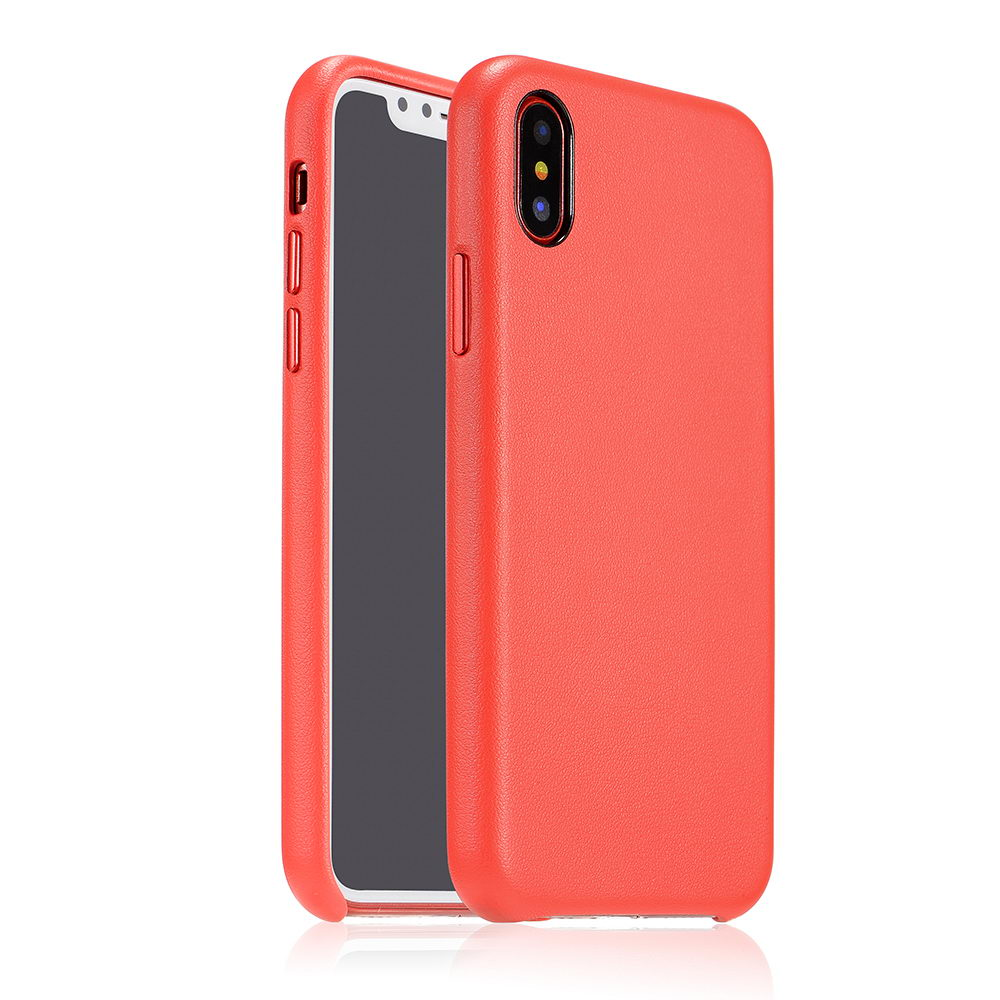 COTEetCI Elegant PU Leather Case For iPhone X/XS Red (CS8011-RD)