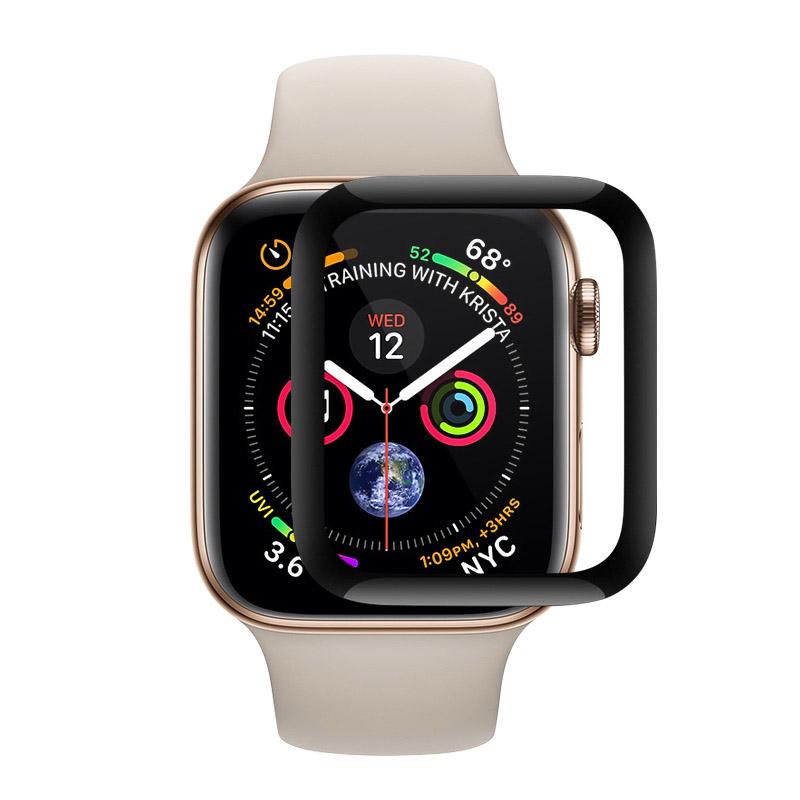 Coteetci Full Glue Glass for Apple Watch 4 44mm (CS2216-44)