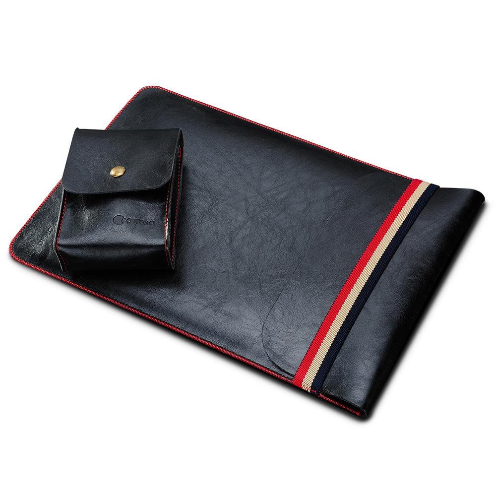 "COTEetCI Leather Sleeve Bag 11"" Black (CS5127-BK)"