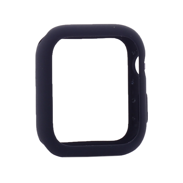 Coteetci Liquid Silicone Case For Apple Watch 4/5/6/SE 40mm Blue (CS7067-BL)