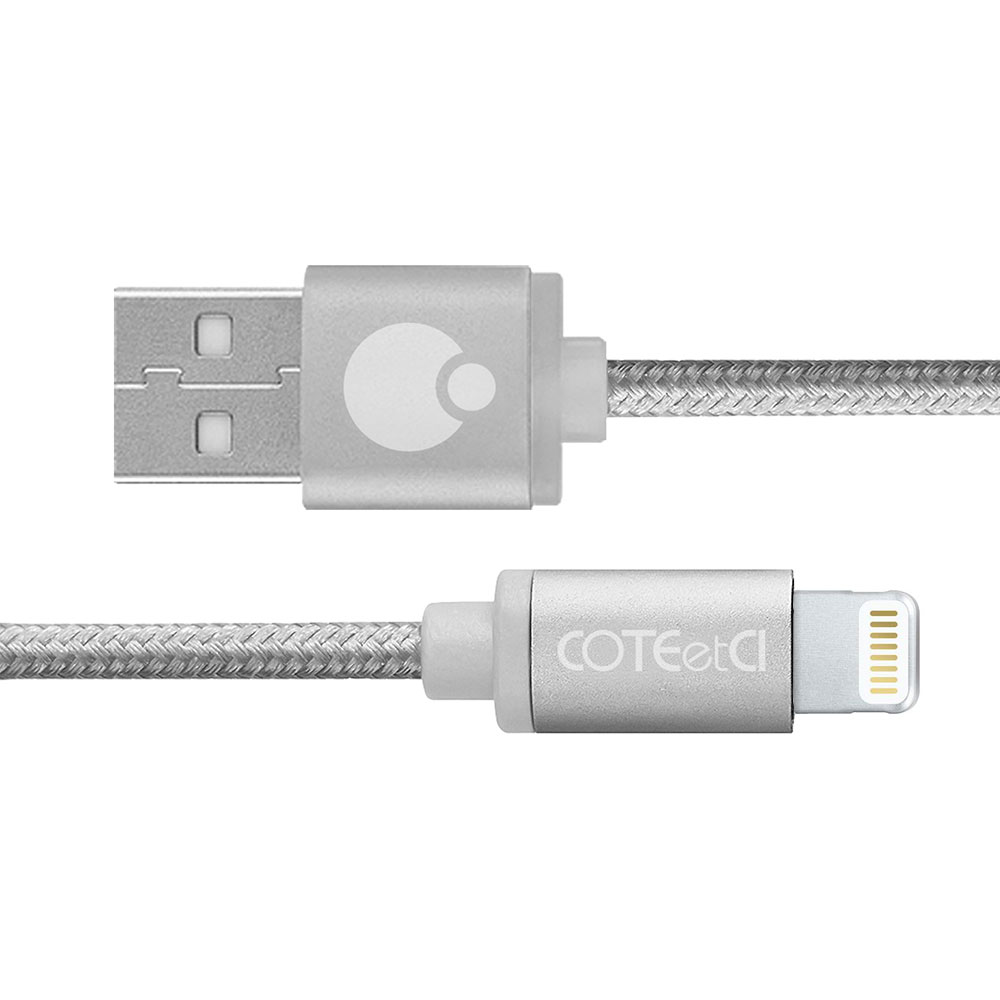 COTEetCI M30i Lightning Cable 0.2m Silver