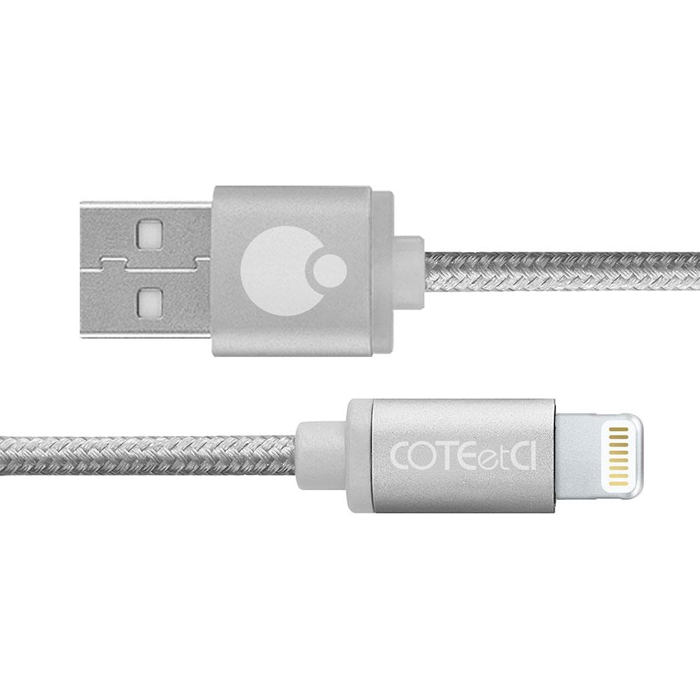 COTEetCI M30i Lightning Cable 3m Silver (CS2127-3M-TS)