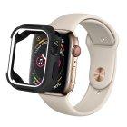 Coteetci PU+TPU Case For Apple Watch 4 40mm Black + White (7051-BW)