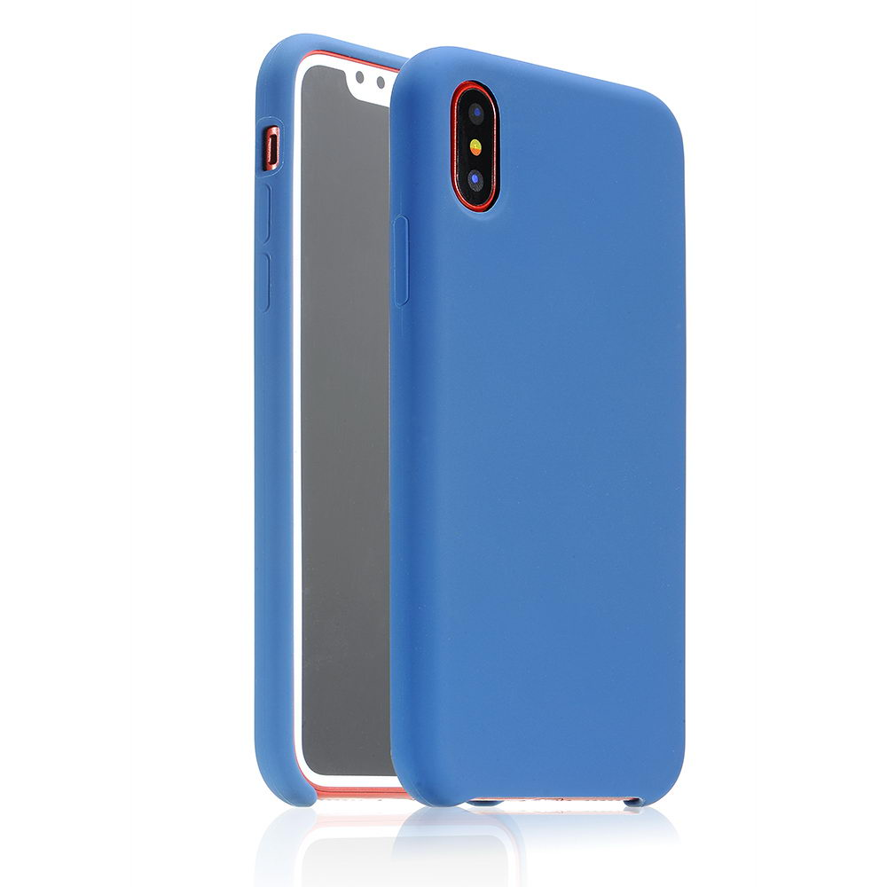 COTEetCI Silicon Case for iPhone X/XS Navy (CS8012-BL)