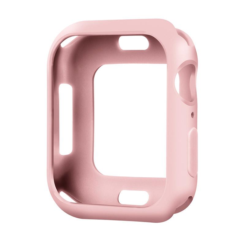 Coteetci TPU Case For Apple Watch 4/5/6/SE 40mm Pink (CS7049-PK)