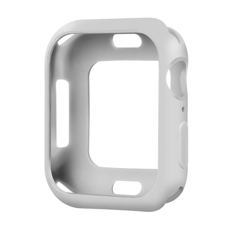 Coteetci TPU Case For Apple Watch 4/5/6/SE 44mm Grey (CS7050-GY)