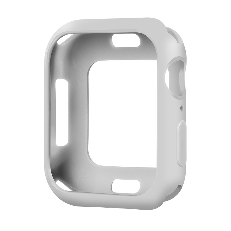 Coteetci TPU Case For Apple Watch 4/5/6/SE 40mm Grey (CS7049-GY)