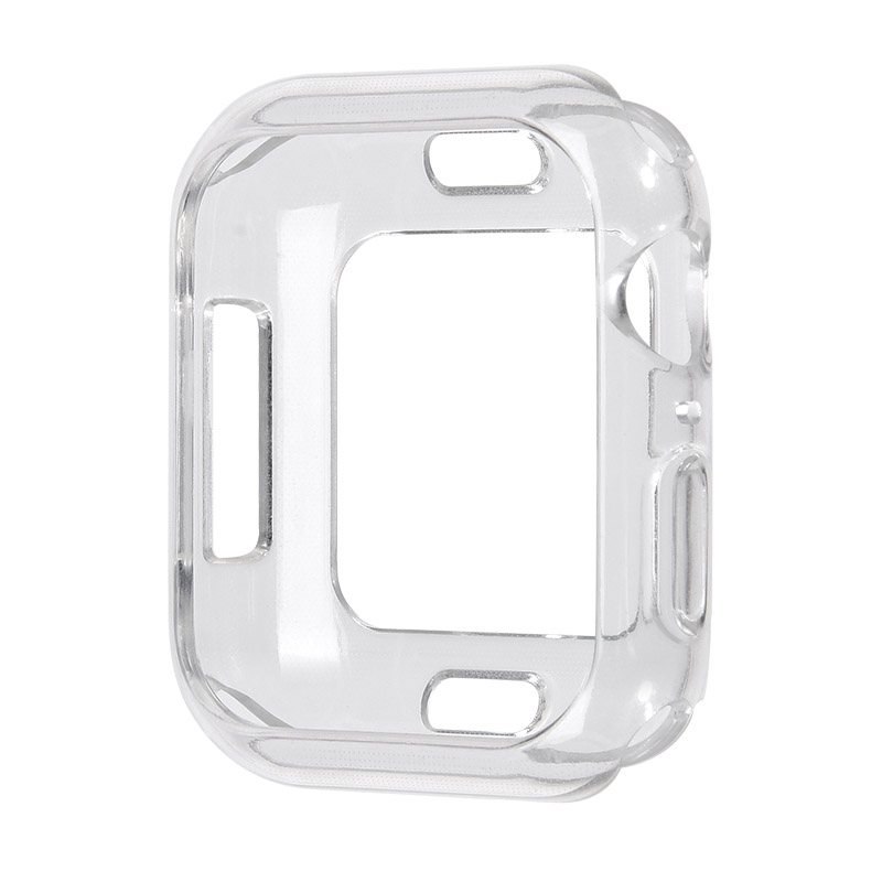 Coteetci TPU Case For Apple Watch 4/5/6/SE 44mm Transparent (CS7050-TT)