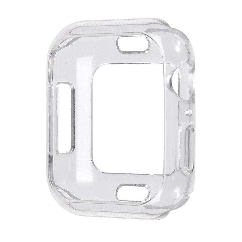 Coteetci TPU Case For Apple Watch 4/5/6/SE 40mm Transparent (CS7049-TT)