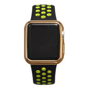 COTEetCI TPU Gold Case for Apple Watch 3/2 42mm (CS7041-CE)