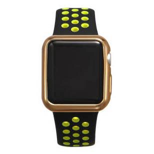 COTEetCI TPU Gold Case for Apple Watch 3/2 38mm (CS7040-CE)
