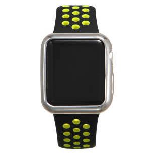 COTEetCI TPU Silver Case for Apple Watch 3/2 38mm (CS7040-TS)