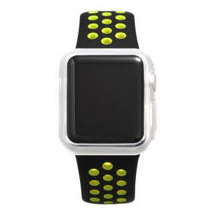 COTEetCI TPU Transparent Case for Apple Watch 3/2 38mm (CS7040-TT)