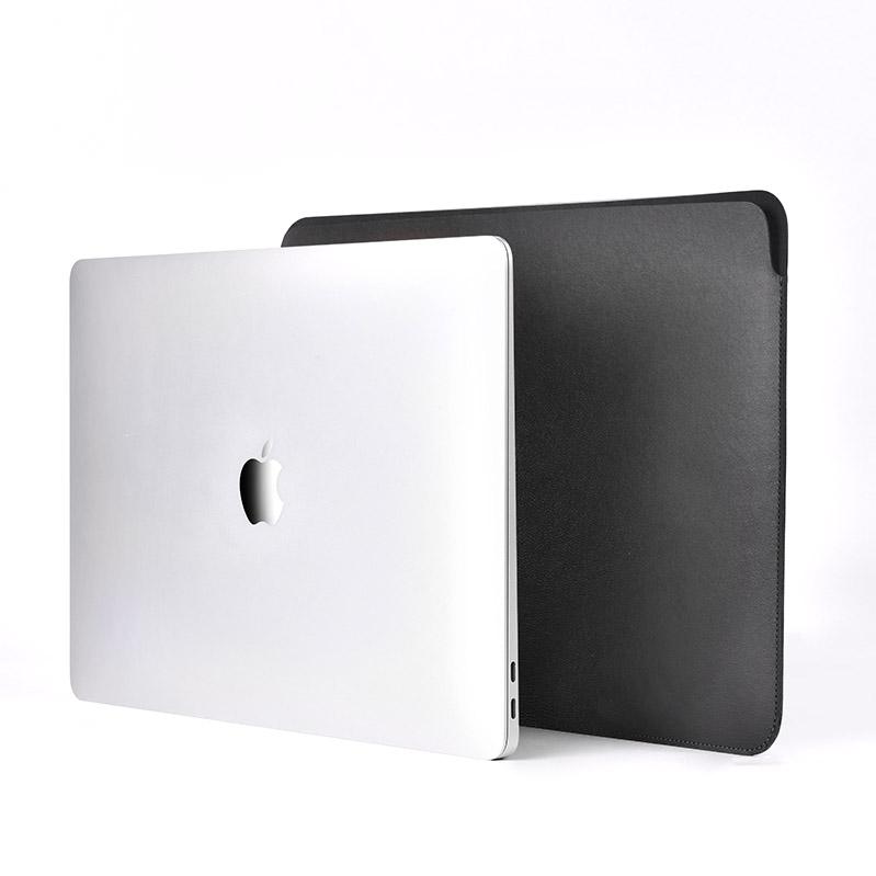 """COTEetCI Ultra-thin PU Case For Macbook 13"""" Black (MB1018-BK)"""