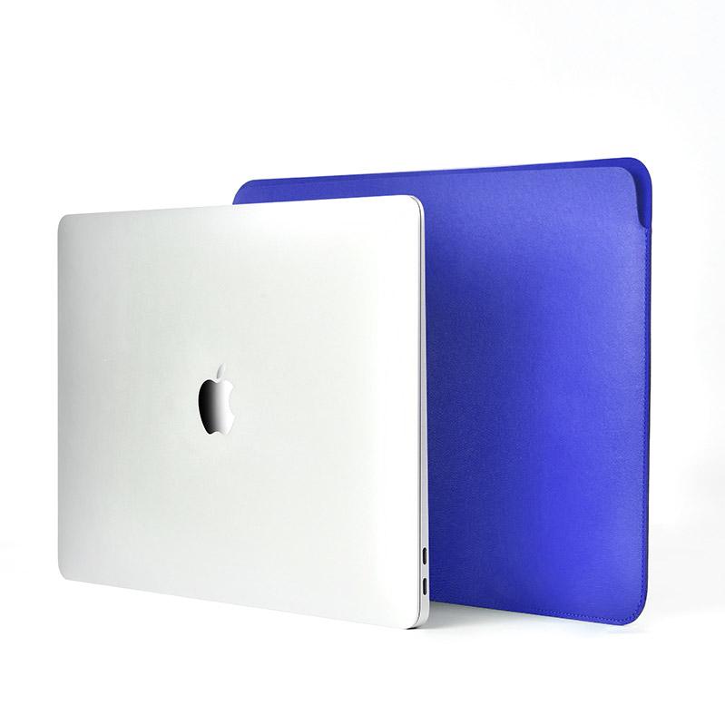 """COTEetCI Ultra-thin PU Case For Macbook 13"""" Blue (MB1018-BL)"""