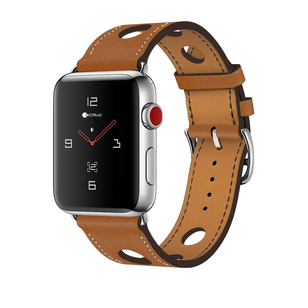 COTEetCI W15 Leather for Apple Watch 38mm Brown (WH5220-KR)