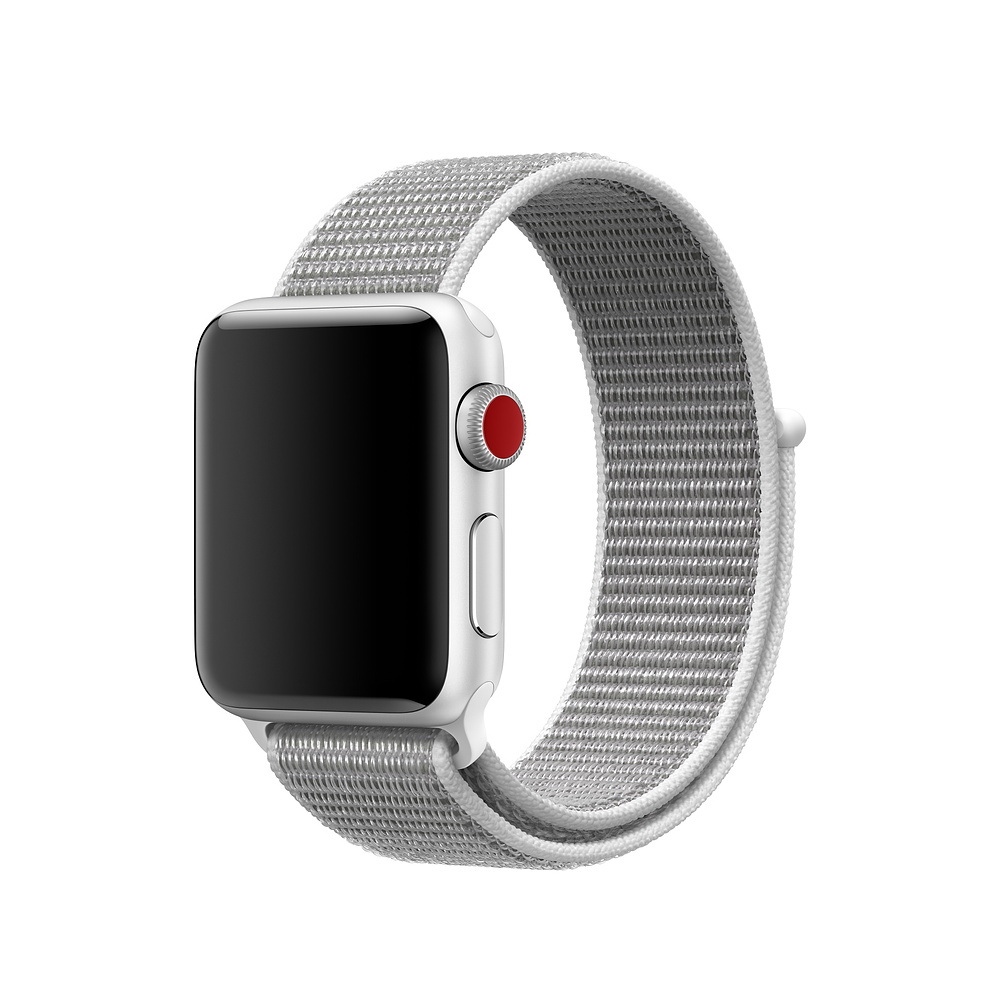 COTEetCI W17 Apple Watch Magic Tape Band 38/40mm White (WH5225-WH)