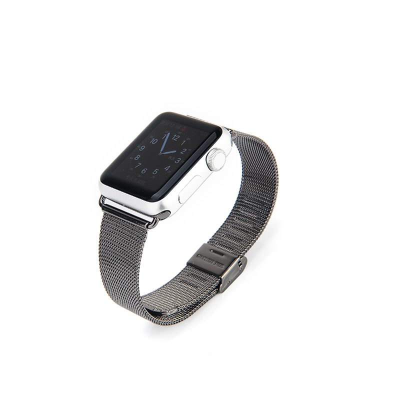 COTEetCI W2 Milanese Band for Apple Watch 38mm Black