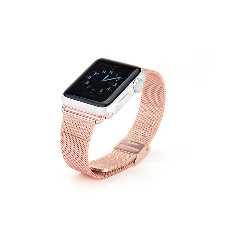COTEetCI W2 Milanese Band for Apple Watch 42/44mm Rose Gold (CS2063-RGD)