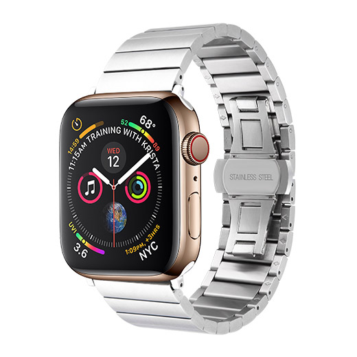COTEetCI W25 Steel Band Silver for Apple Watch 38mm/40mm (WH5237-TS)