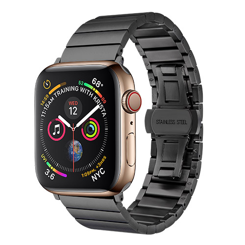 COTEetCI W25 Steel Band Black for Apple Watch 38mm/40mm (WH5237-BK)