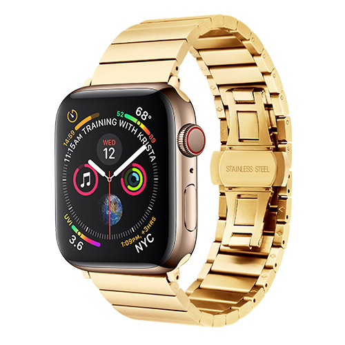 COTEetCI W25 Steel Band Gold for Apple Watch 38mm/40mm (WH5237-GD)