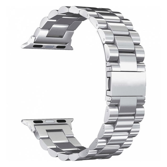 COTEetCI W26 Steel Band Silver for Apple Watch 38mm/40mm (WH5239-TS)