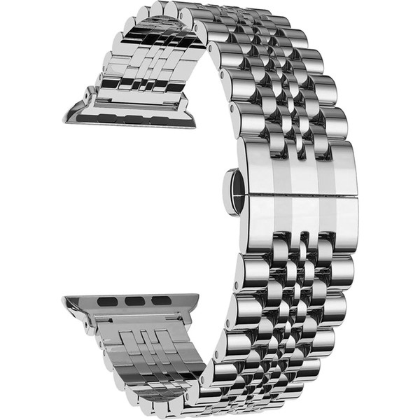 COTEetCI W27 Steel Band Silver for Apple Watch 38mm/40mm (WH5241-TS)