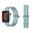 COTEetCI W30 Rainbow Nylon Band For Apple Watch 38mm Blue (WH5250-WB)