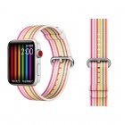 COTEetCI W30 Rainbow Nylon Band For Apple Watch 38mm Pink (WH5250-WP)
