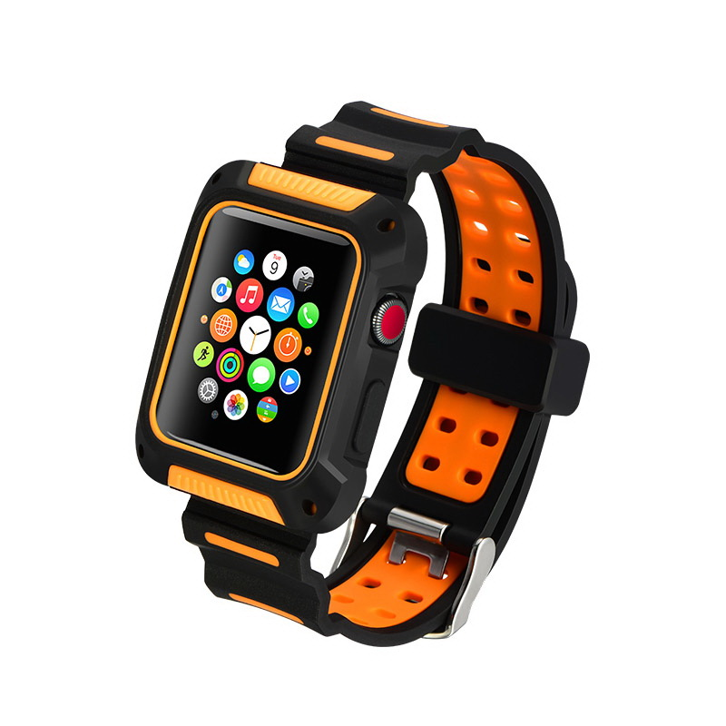 COTEetCI W31 PC&Silicone Band Suit For Apple Watch 42mm (WH5252-BO)