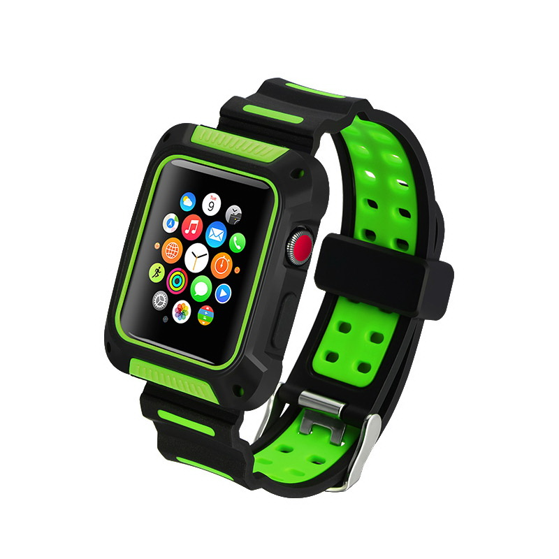 COTEetCI W31 PC&Silicone Band Suit For Apple Watch 42mm (WH5252-BG)