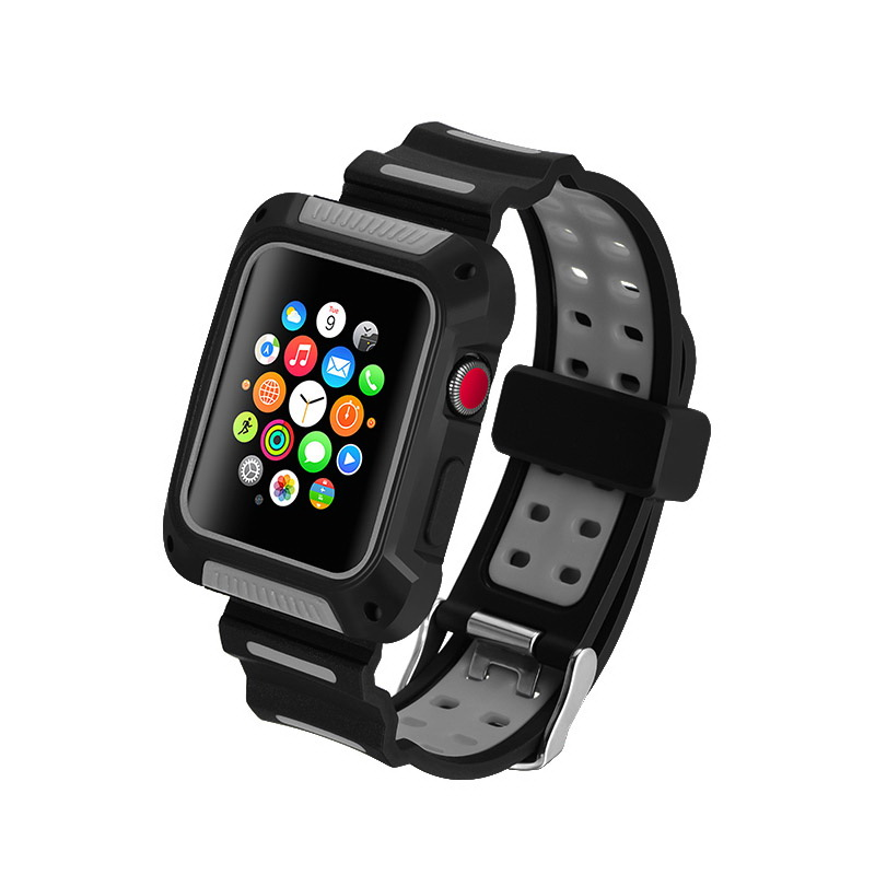 COTEetCI W31 PC&Silicone Band Suit For Apple Watch 42mm (WH5252-BY)