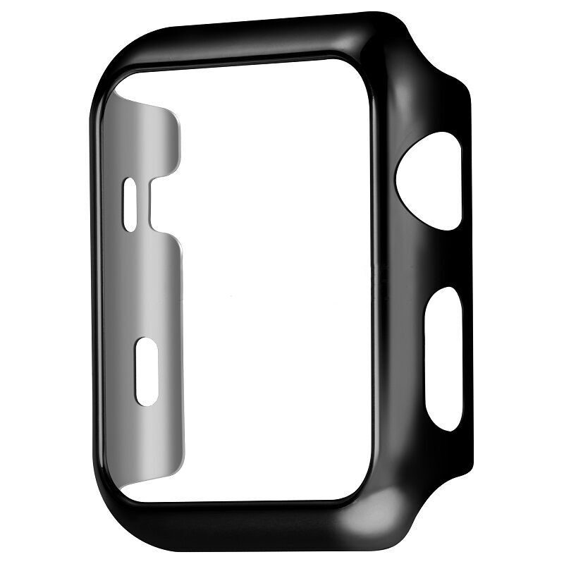 COTEetCI PC Case for Apple Watch 38mm Series 1-3 Black (CS7045-LK)