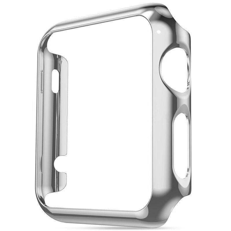 COTEetCI PC Case for Apple Watch 38mm Series 1-3 Silver (CS7045-TS)