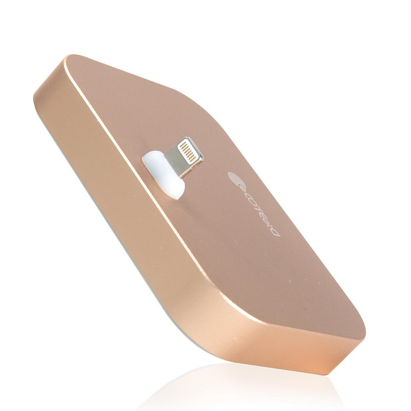 COTEetCI Base12 iPhone Stand (Breathe Light) Gold (CS5015-CE)