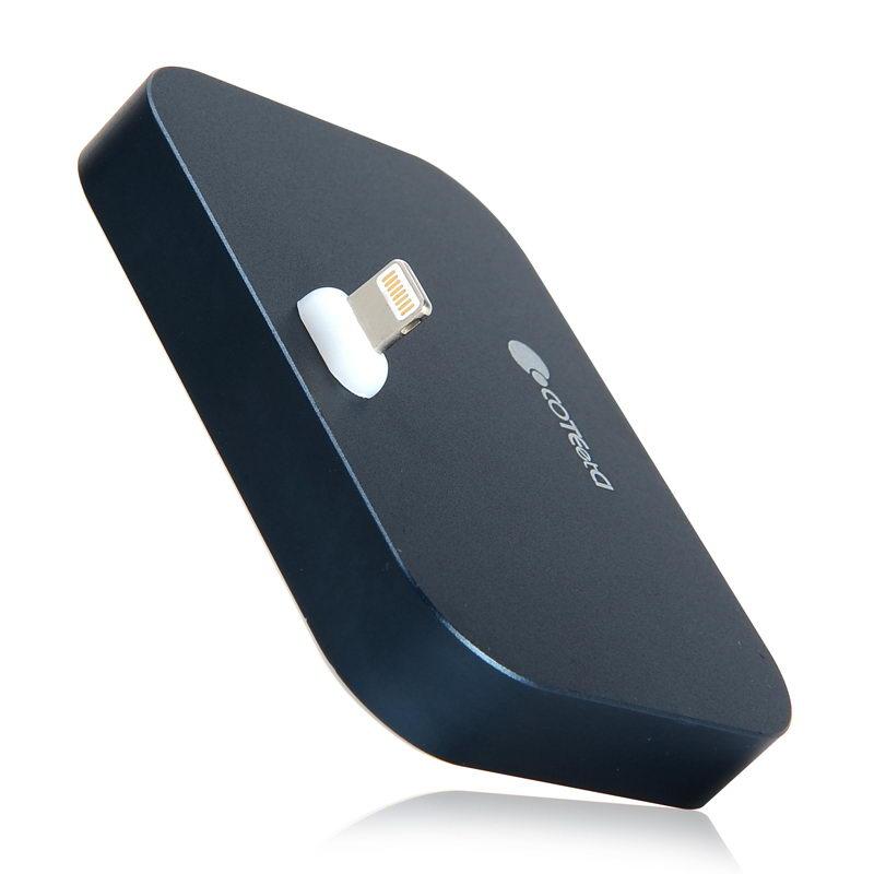 COTEetCI Base12 iPhone Stand (Breathe Light) Space Gray (CS5015-GC)