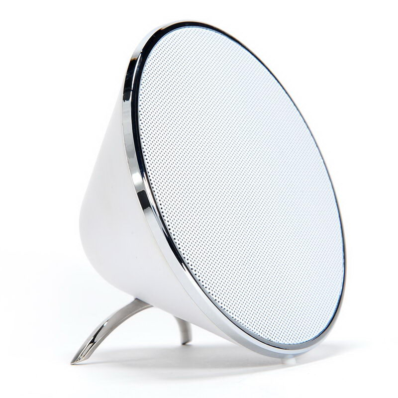 COTEetCI BS-02 Conical GYRO Bluetooth Speaker White (CS5020-WH)